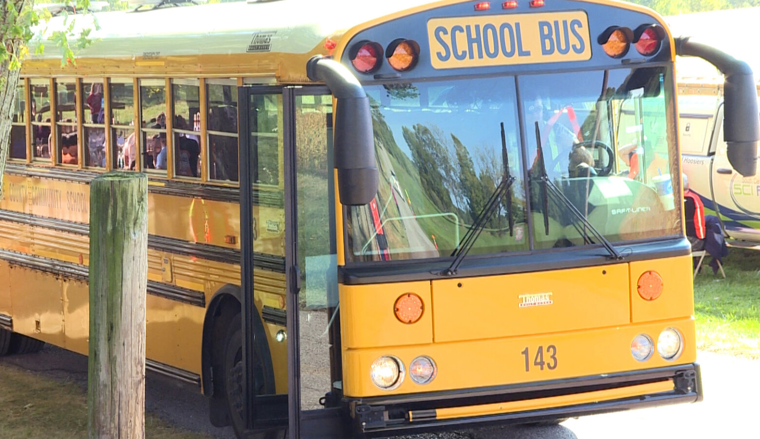 The latest effort for Kokomo school employees to unionize was spurred by bus drivers and aides who are worried about changes to their pay and understaffing. (Jeanie Lindsay/IPB News)
