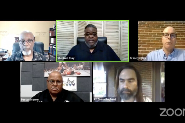 The Concerned Clergy of Indianapolis, Baptist Ministers Alliance and the National Action Network of Indiana hosted a virtual event Wednesday to discuss concerns about ongoing racism in health care.