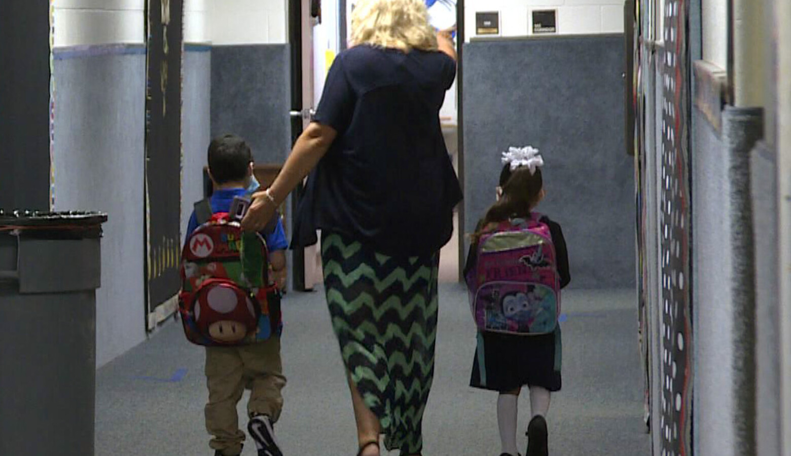 According to early findings from Indiana's academic impact study, the pandemic significantly affected elementary school students' progress in math, and more moderately in English/language arts. (Jeanie Lindsay/IPB News)
