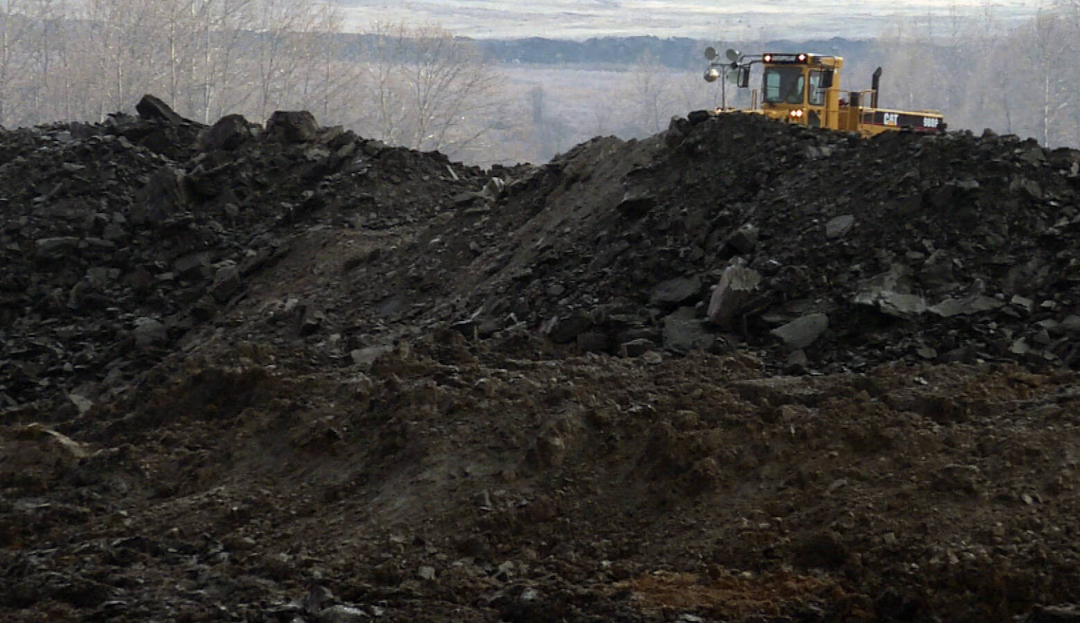 The U.S. Energy Information Administration shows overall coal production in the U.S. last year was the lowest it's been since 1965. (FILE PHOTO: Barbara Brosher/WTIU)