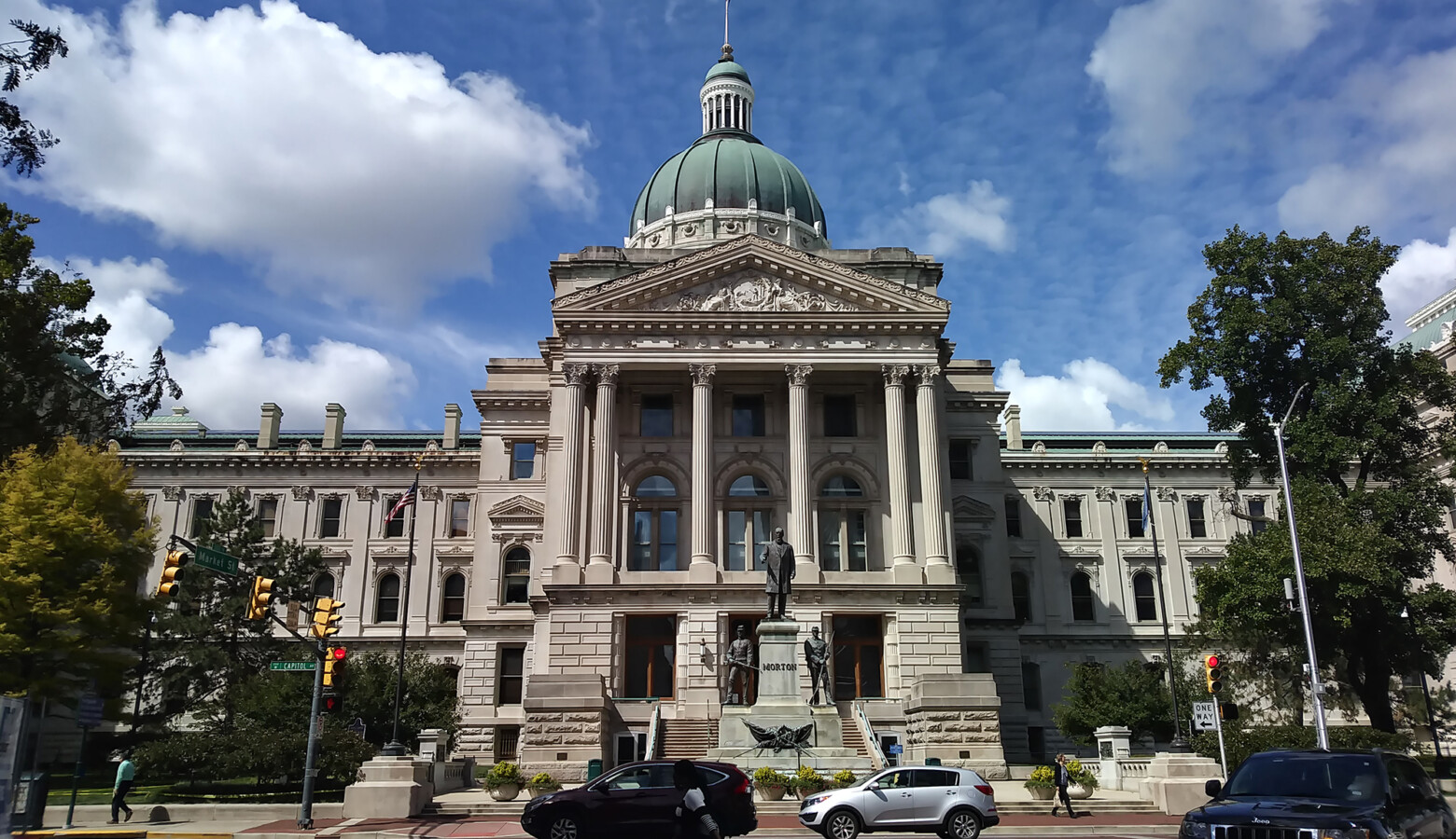 It will still be weeks before Indiana lawmakers can gather to redraw congressional and state legislative district boundaries. (Lauren Chapman/IPB News)