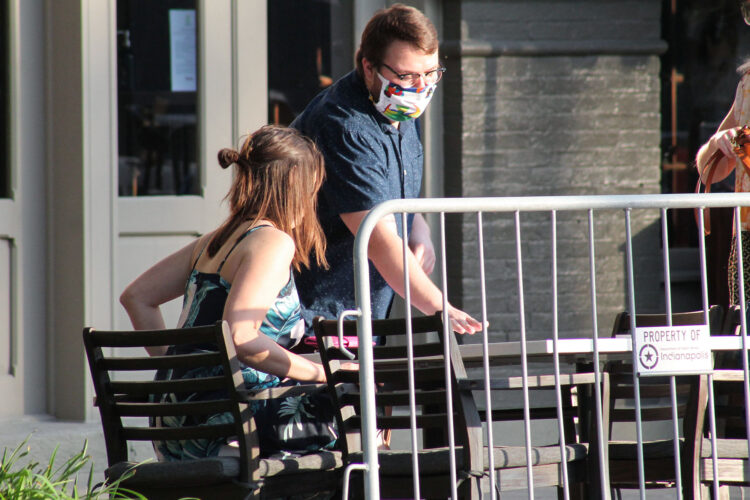 Based on data from the last six months in Indiana, your chance of testing positive for COVID-19 if you are unvaccinated is about 1 in 34. If you're vaccinated, it's about 1 in 467. (Lauren Chapman/IPB News)